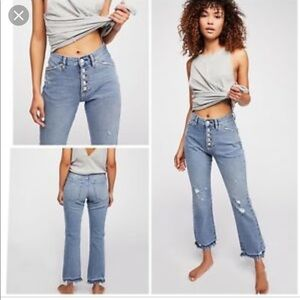 Free people Dylan cropped jeans